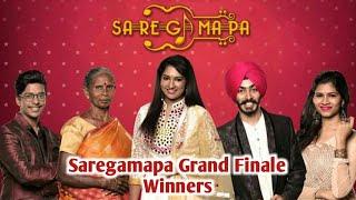 Winners of Zee Tamil Sa Re Ga Ma Pa Grand Finale W