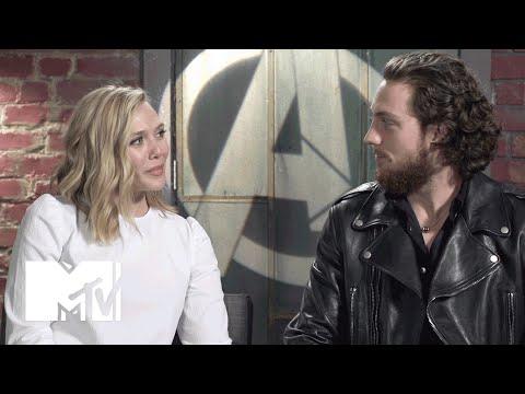 'Avengers: Age of Ultron' Stars Elizabeth Olsen & Aaron Taylor-Johnson (Spoiler) | MTV News