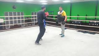 Suresh Bhettan boxing coach pad work techniques punch Body and Jab
