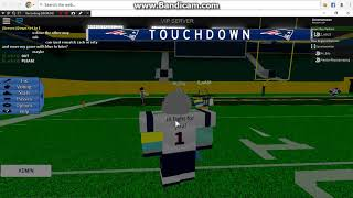 Green bay packers vs New england patriots (Zach Vs Mr_erty) Part 1