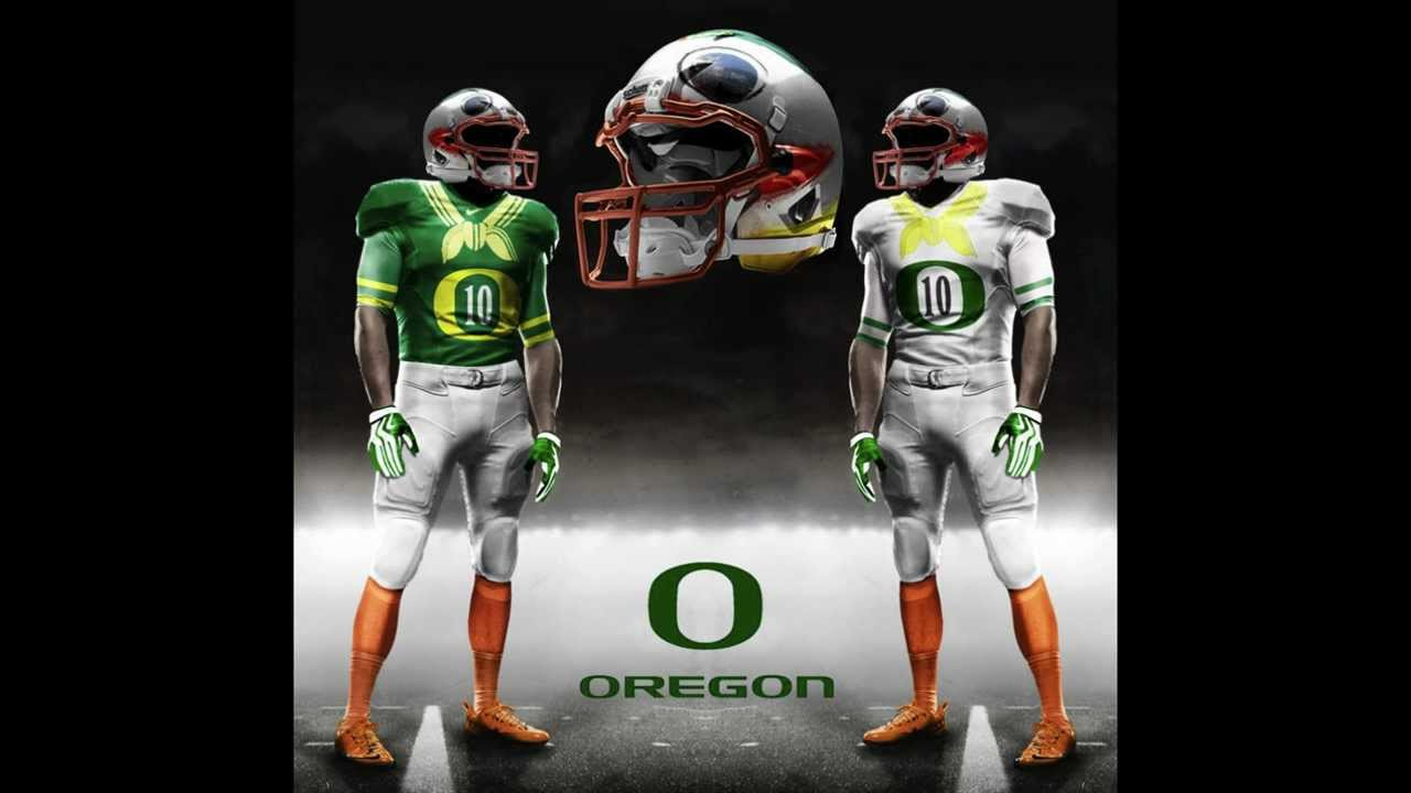 Oregon Ducks Football Helmets 2014 Oregon Ducks Uniform Concepts