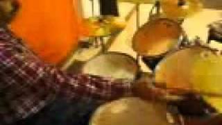Dandiya On Drum