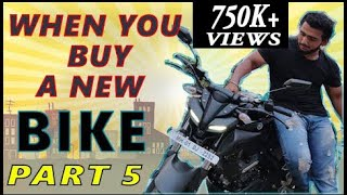 When You buy A New Bike (part-5) | Yamaha MT-15 & Apache RR 310 | HD Sportster 1200 #alamothashana