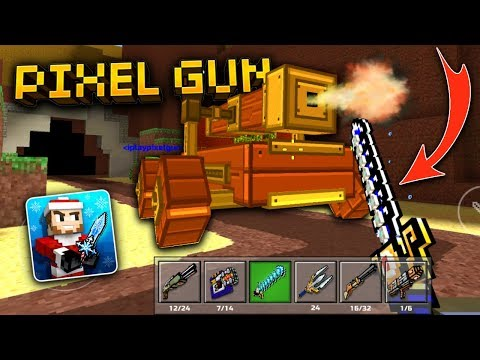 MASSIVE BATTERING RAM!!   Pixel Gun 3D - New Update 13.1.0 [Review]
