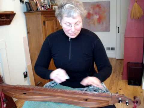 Traditional mountain dulcimer BEGINNER#8 RE-TUNING to 4 modes