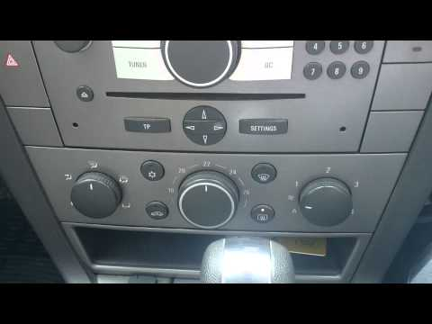 Vauxhall Vectra C heater problem
