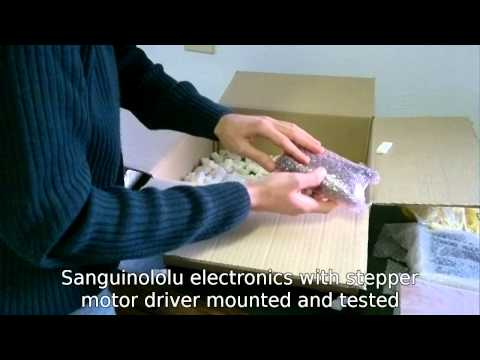 RepRap#Resco assembly #1 - Unboxing