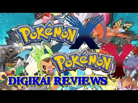 Pokemon X and Y - A Digikai 3DS Review!