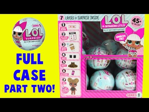 MEGA LOL Doll Case Unboxing! Part Two! 7 Layers of Surprises!