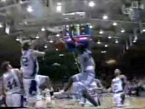 Stackhouse dunk at dook