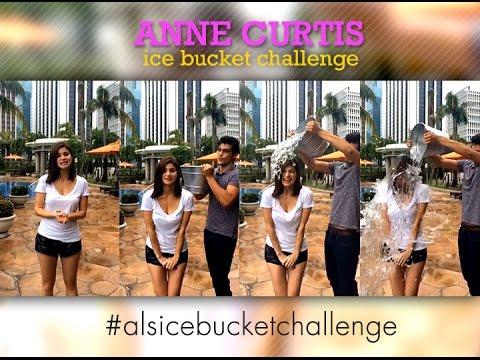ALS Ice Bucket Challenge: Anne Curtis