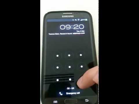 New Samsung Total Lockscreen Bypass - run *any* ap