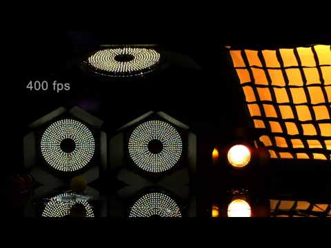 Check out these entirely flicker free LED lights!