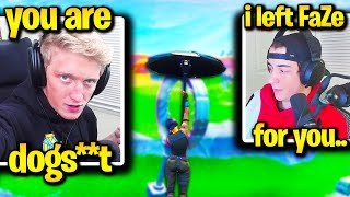 TFUE *DROPS* CLOAKZY after *CHOKING* World Cup Qualifiers! (Fortnite)