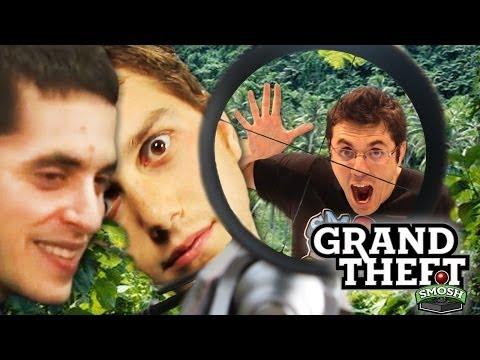 LET THE MANHUNT BEGIN (Grand Theft Smosh)