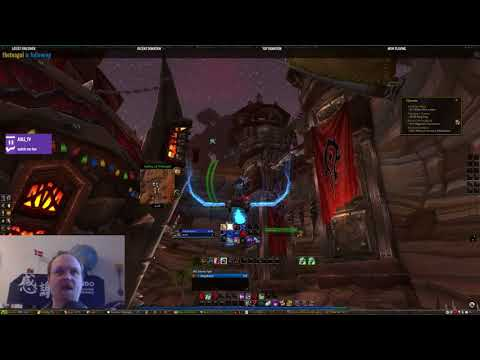 Lore of Nerds - World of warcraft leveling a shaman US (day18)