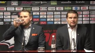 Sport - HPK lehdistötilaisuus 5.12.2016
