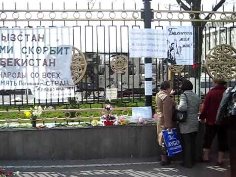 Bishkek Protest Site #2.avi
