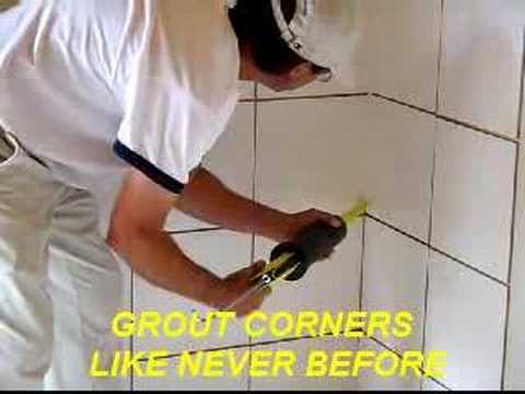 The Grout Gun Video How To Grout Tile Youtube