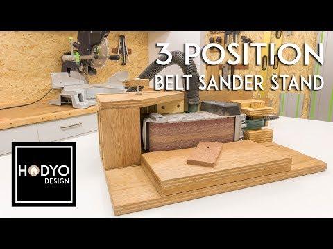 3 Position Belt Sander Stand