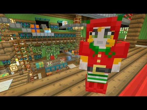 Minecraft Xbox - Festive World - Music Disc Hunt - Part 2