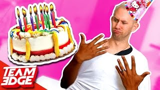Not MY Arms! | Birthday Cake Edition! 🎂