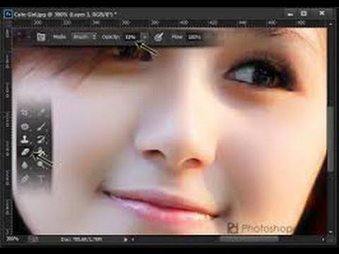Tutorial Photoshop Menghaluskan Wajah dan Jerawat