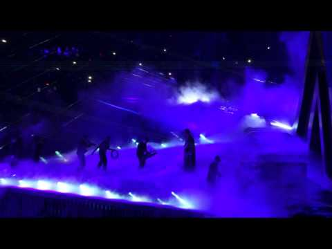 Wwe The Undertaker Final Match Entrance At Wrestlemania Xxx video