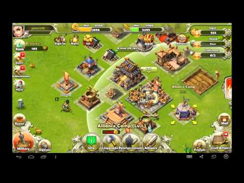 Dynasty war android game first look gameplay español
