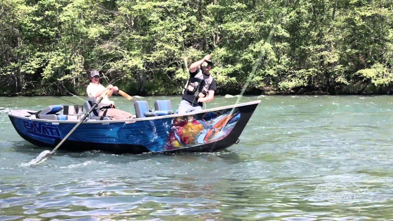 Pavati drift boats the revolution has begun youtube for Drift boat fishing