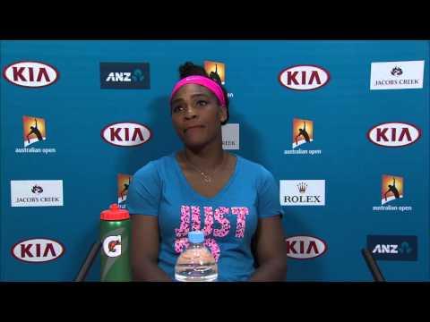 Serena Williams press conference (2R) - Australian Open 2015