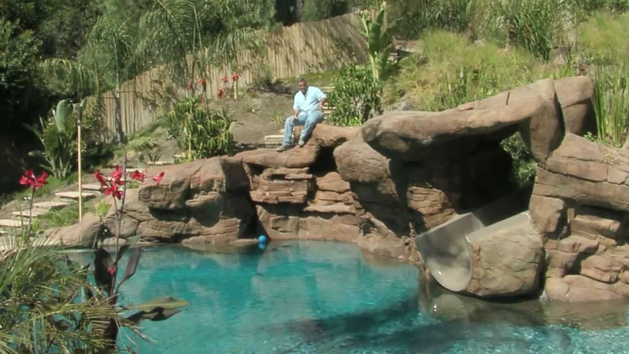 Tropical Backyard Pool amp Spa Ideas YouTube