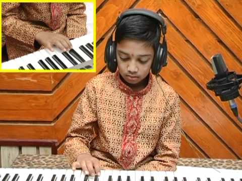 sri veena vani amogh playing bum bum bole
