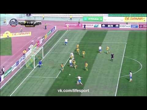 Кубань-Динамо Москва 1-2