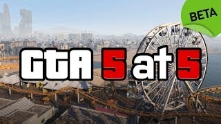 GTA 5: Attempt to Escape a Five-Star Wanted Level With No HUD - IGN Plays