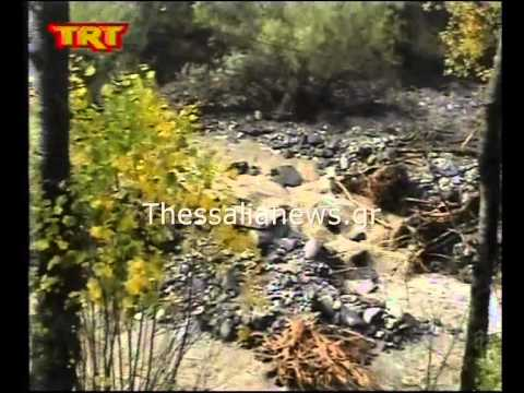 Καταστροφές στα χωριά των Τρικάλων