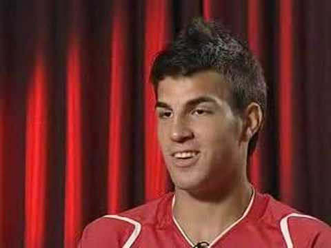 Cesc Fabregas Interview 2006 TV Online