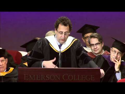 2012 Emerson College Graduate Commencement Address: Tony Kushner