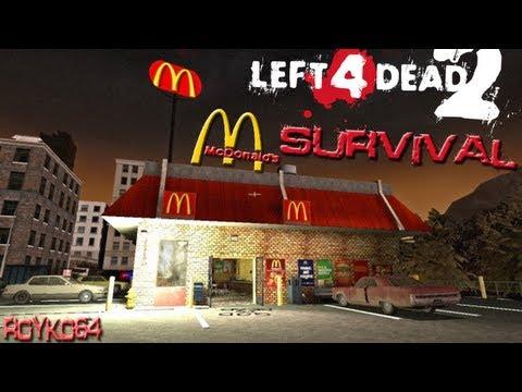 Left 4 Dead 2: McDonalds Survival Map With VinceXEntertainment