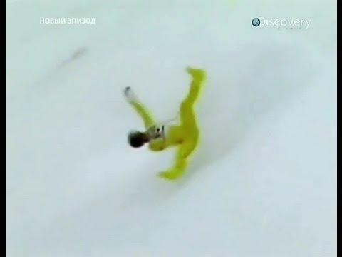 Самое страшное падение в лыжном спорте