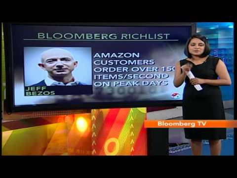 In Business: Rich List: Amazon's Jeff Bezos