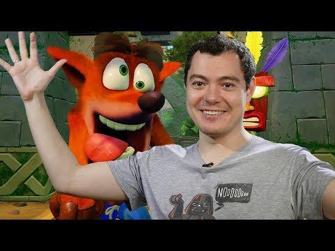 Crash Bandicoot N. Sane Trilogy - КРЭШ вернулся, чтобы МУЧИТЬ нас (Обзор/Мнение/Review)