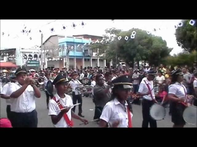Desfile 15 de Septiembre de 2012 San Vicente