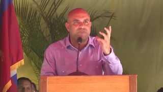Haiti - Laurent Lamothe - Commemoration 1er Mai,  fete de l'Agriculture et du Travail, a Damien