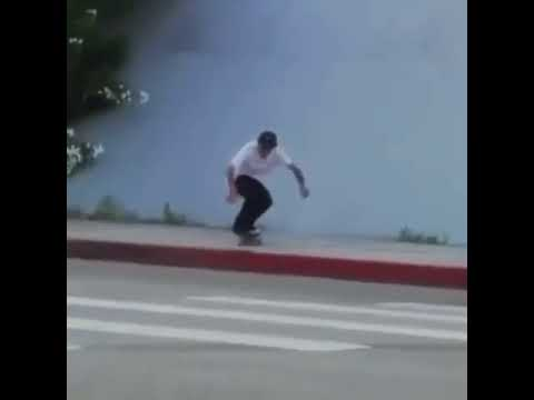 Holy Fuck! How did you do this so clean @miltonmartinez | Shralpin Skateboarding