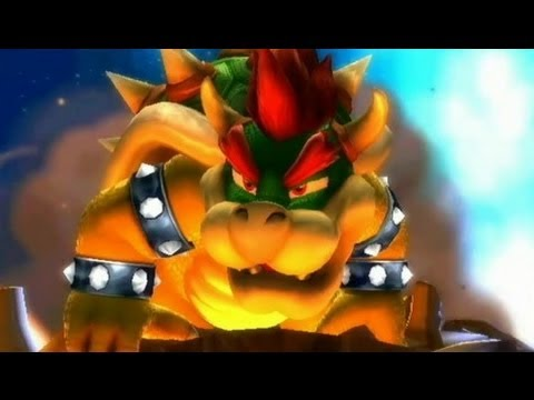 Super Mario Galaxy 100% Walkthrough - Part 26 - Bowser's Galaxy Reactor (Final Boss Fight + Ending)