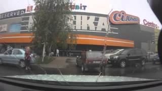 Отомстил водителю ВАЗа, за то что перекрыл выезд