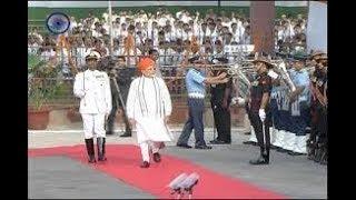 PM Modi  Reaches Red Fort to address the nation -- ఎర్రకోటకు చేరుకున్న ప్రధాని - netivaarthalu.com