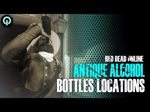 Antique Alcohol Bottles Locations (Collector Role) | Red Dead Online