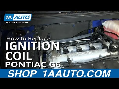 How To Install Replace Engine Ignition Coil 2.4L Pontiac G6 Saturn Aura